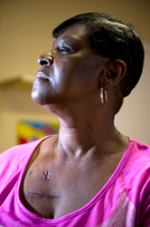 Delores Brown, heart surgery patient
