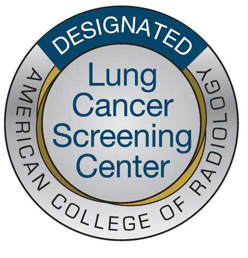 American College of Radiology Designated Lung Cancer Screening Center logo
